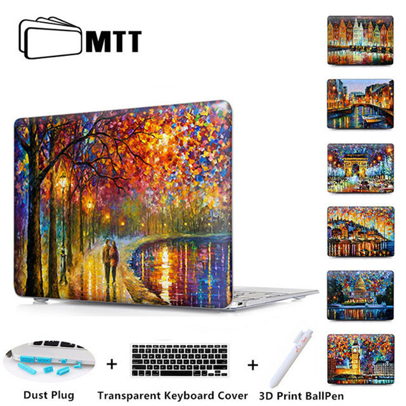 EIFFEL TOWER Cover For Macbook Air 11 Air 13 inch A1466 Laptop Case Matte Pro 13 15 Touch Bar New 2016 2017 Retina A1278 A1706