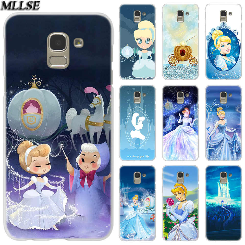 MLLSE น่ารัก Cinderella สำหรับ Samsung Galaxy J2Pro J4 J6 J8 2018 J3 J5 J7 2016 2017EU Prime CORE plus Hot แฟชั่น