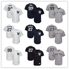 539b05452 Men s New York Yankees Aaron Judge Jersey MLB Giancarlo Stanton Home White  Navy Gray Player Jersey