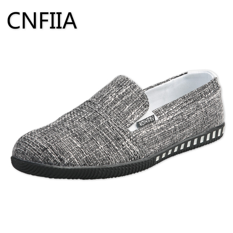 CNFIIA Loafers Shoes Men Walking Breathable Canvas Shoes Men Slip-On Footwear Male Men Casual Shoes Summer Casual Loafers Flat printer heating unit fuser assy for fuji xerox phaser 3500 3600 fuser assembly on sale
