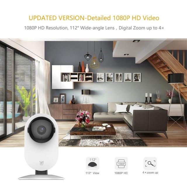 YI Home Camera 1080p Wireless IP Wifi Security Surveillance System Baby Monitor Night Vision Cloud International version (US/EU) 4