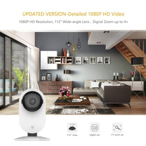 Image 5 - YI Home Camera 1080p IP Wifi Security AI Based Human Detection Baby Monitor Night Vision Cloud International version (US/EU)