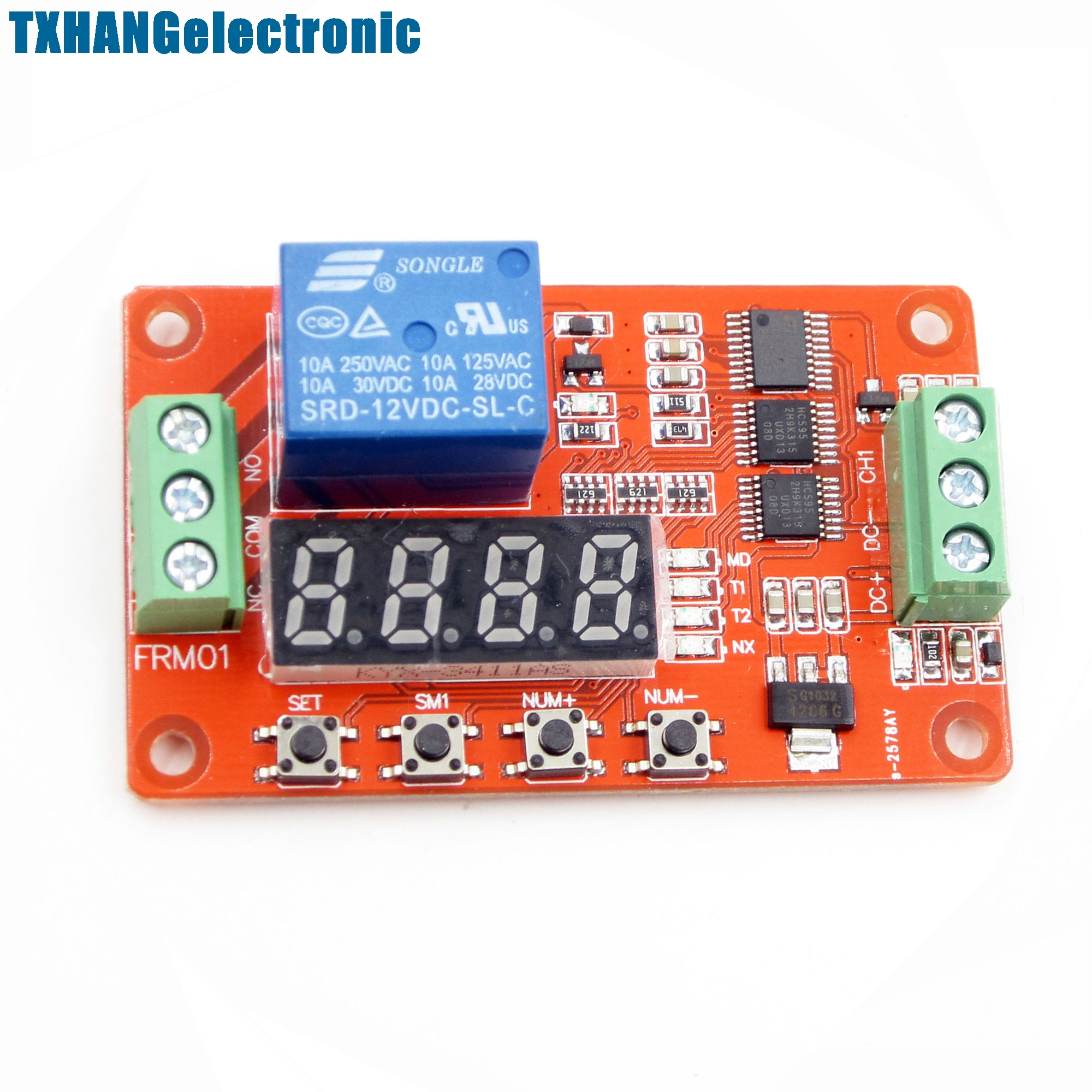 12v Automation Delay Multifunction Selflock Relay Cycle Timer Module Plc  Home(china (