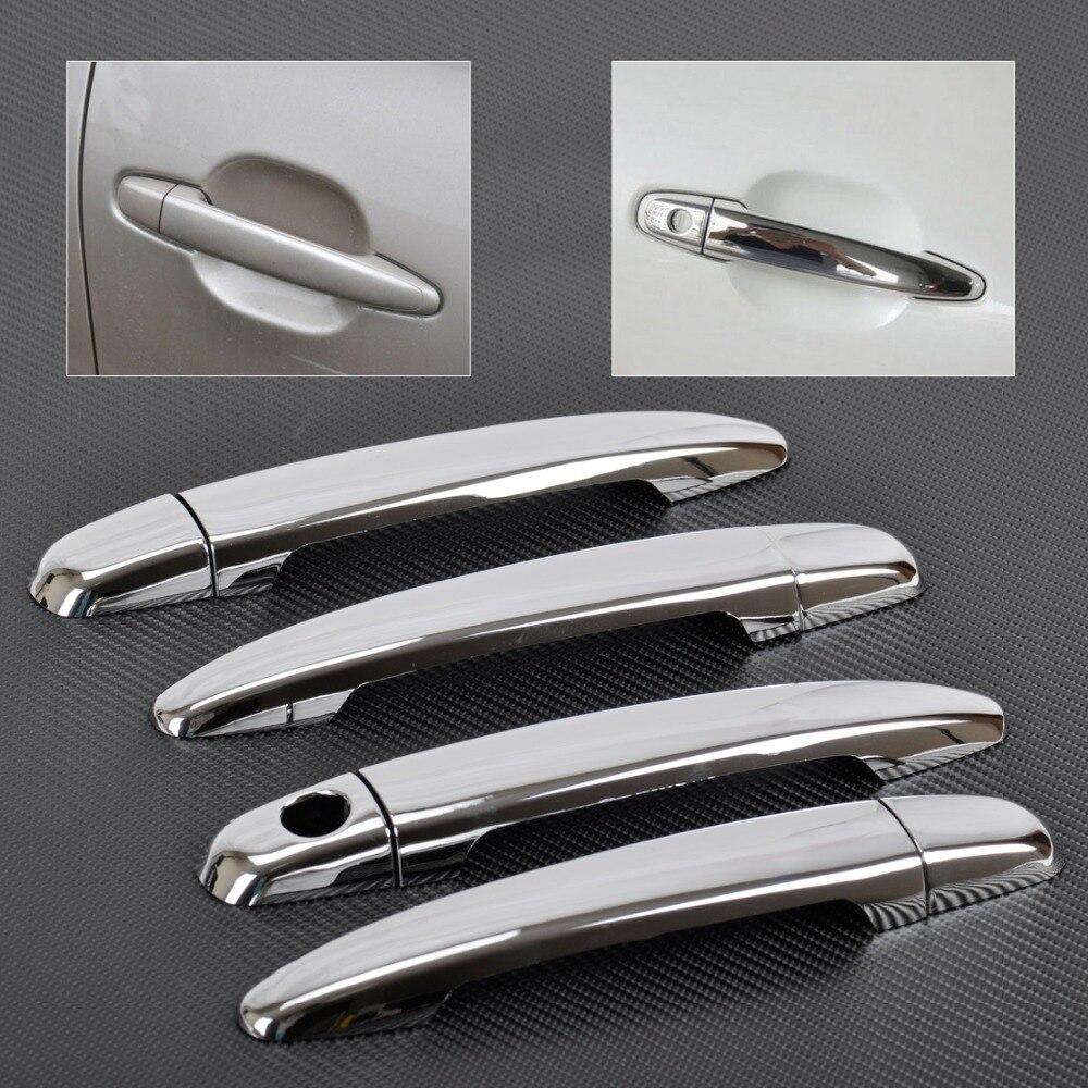 Dwcx new car abs chrome door handle cover trim for lexus toyota camry tacoma avalon