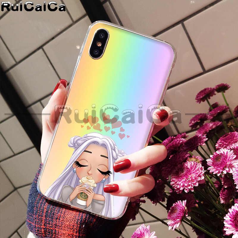 RuiCaiCa No Tears ซ้าย To Cry ariana grande โทรศัพท์สำหรับ iphone ของ Apple iphone 8 7 6 6 S Plus X XS MAX 5 5 S SE XR โทรศัพท์มือถือ