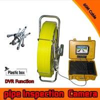 (1 компл.) 60 м кабель системы видеонаблюдения Труба инспекции Камера Водонепроницаемый подводный IP68 DVR функция видеонаблюдения Камера систе