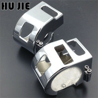 Motorcycle Chrome Switch Housings Cover For Kawasaki Vulcan 1500 1999 2008 Vulcan 1600 All Models