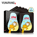 Skin care YUNIFANG Hyaluronic Acid Black Mask 30ml*7pcs Hydrating, restore skin's resilience face mask facial mask
