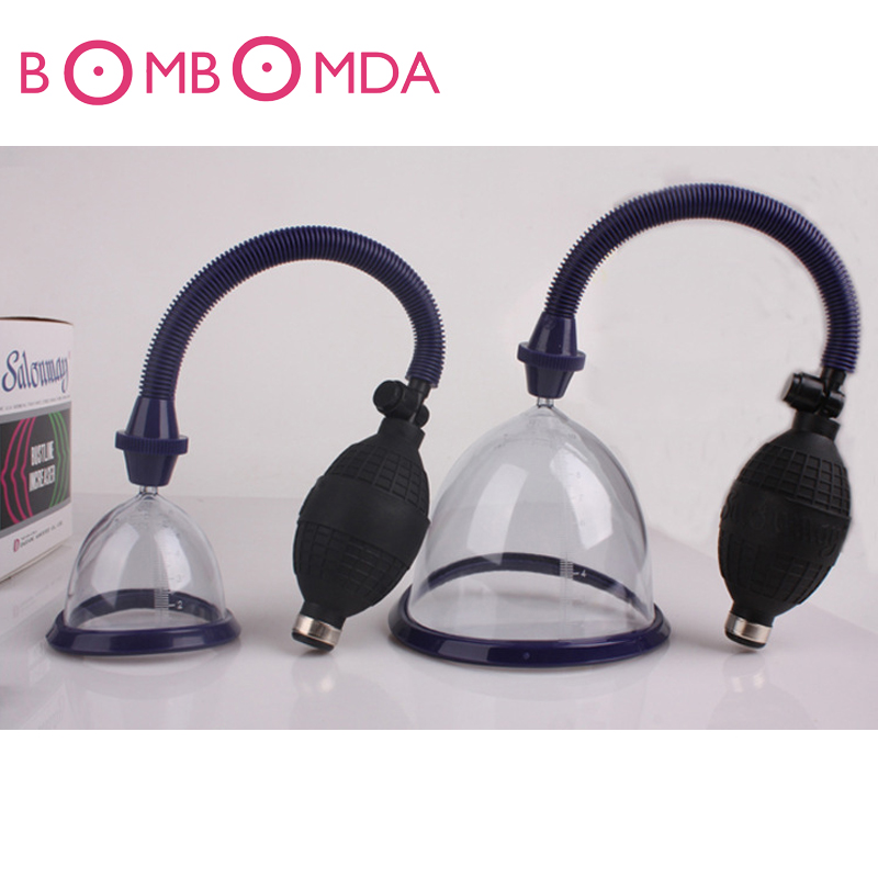 6CM Manual Women Breast Enlarge Device Breast Massage Enhance Pump Chest Enlargement Toys for Female Breast Enlarge Massage