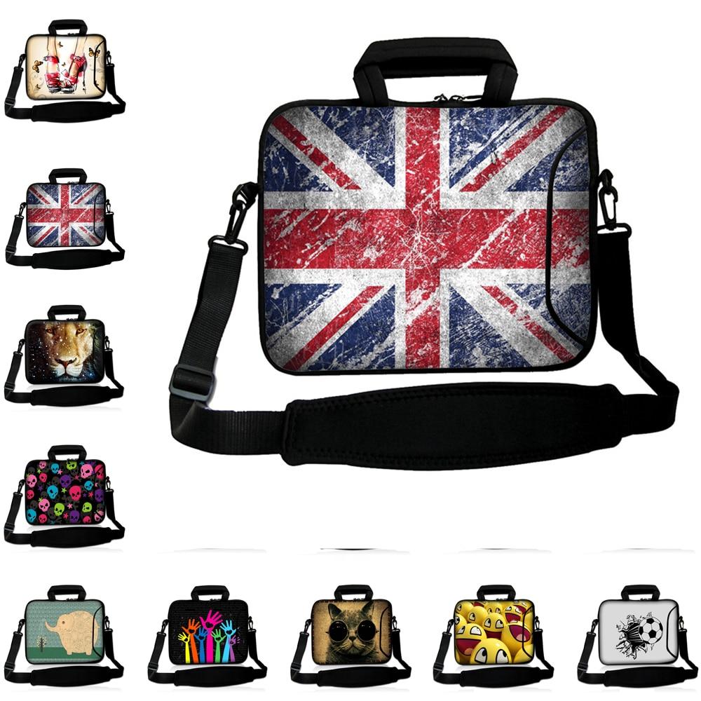 Viviration 10 11 12 13 14 15 15.6 17inch For Ipad/macbook Air/pro/lenovo Laptop Notebook Messenger Briefcase Bag +Shoulder Strap