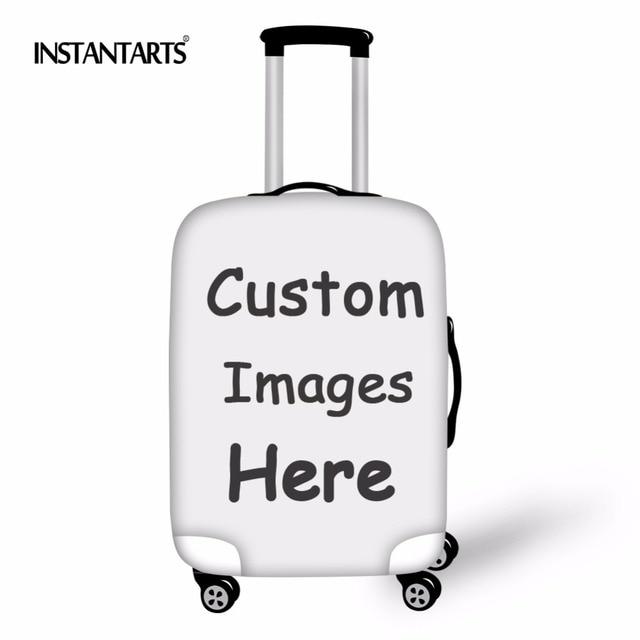 c9fe19e7d Instantáneas personalizan tu logotipo/imagen accesorios de viaje Fundas  protectoras de equipaje para 18