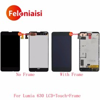 10Pcs Lot 4 5 For Nokia Lumia 630 Full Lcd Display With Touch Screen Digitizer Sensor