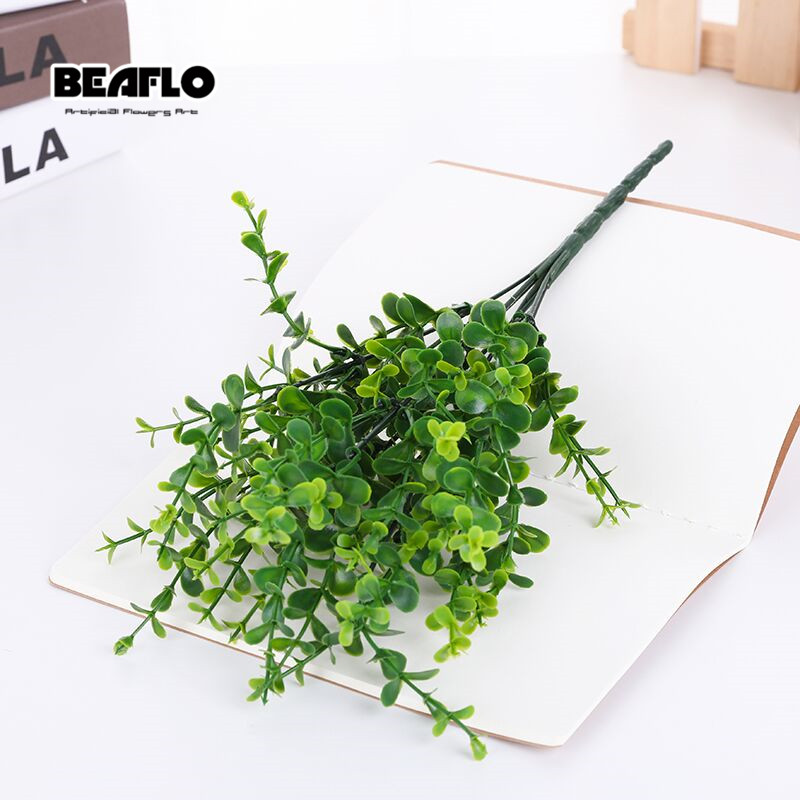 1pc Artificial Leaves Large Eucalyptus Leaf Plants Wall Material Decoration Fake Plant For Home Wedding Garden Party Decor1pc Artificial Leaves Large Eucalyptus Leaf Plants Wall Material Decoration Fake Plant For Home Wedding Garden Party Decor