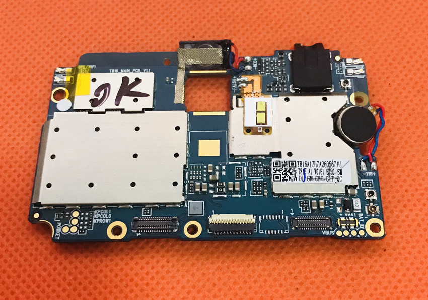 Used Original mainboard 4G RAM+64G ROM Motherboard for Ulefone MIX MT6750T Octa Core 5.5 Free shipping
