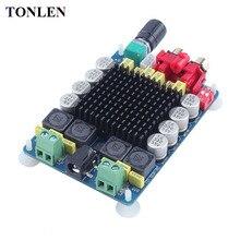Promo offer TONELN TDA7498 Class D HIFI Power Digital Amplifier Board 2*100W 4ohm 8 ohm Dual Channel Stereo Hifi Home Theater Audio Amp