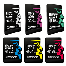 SMARE Micro SD Card 32GB Class 10 16GB/64GB/128GB Class10 Class 6 4GB 8GB UHS-1 Memory Card Flash Memory Microsd for Smartphone