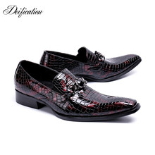 Deification Genuine Leather Party Wedding Mens Shoes Italian Casual Luxury Office Brogues Oxfords Formal Shoes for Man mocassim цены онлайн