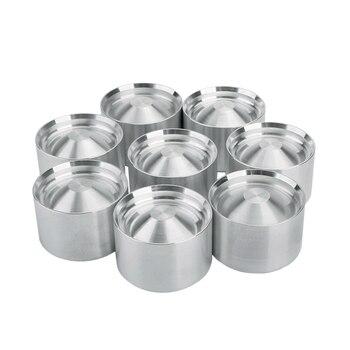 8-stück 6061 Aluminium Legierung Lagerung Tasse Öl Filter Kappe Für Napa 4003 Wix 24003 1,797 Zoll X 1,620 zoll Silber