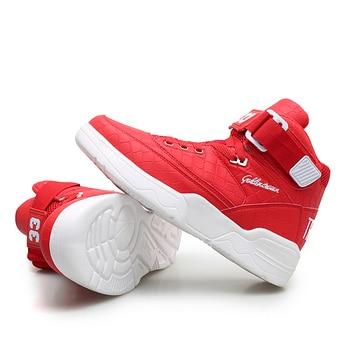 21a91725 Мужские кроссовки высокого качества, Баскетбольная обувь, дышащая, размер  38-45, износостойкая амортизирующая спортивная обувь, Zapatillas De  Baloncesto
