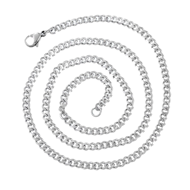 mens men s cuban italy itm sterling o pure silver new chain wholesale necklace curb