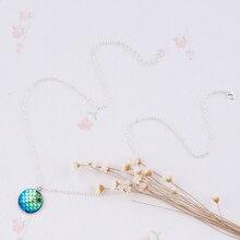 Mermaid Scales Charm Pendant Necklaces