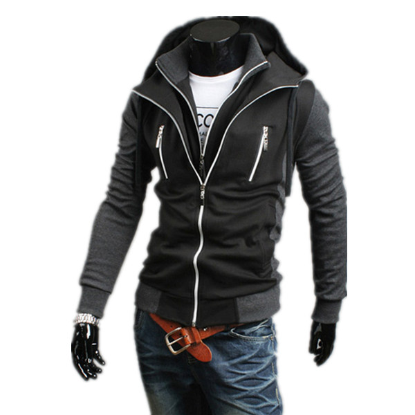 2017 Fashion Style Slim Design Mens Hoddies Sweatshirts Casual Tracksuit Men Jacket Sportswear