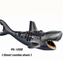 PG1008 Mini Dolls Single Sale Prince of Pirates of the Caribbean series ghost zombie sharks Building