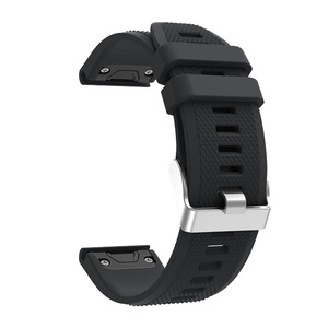 Image 2 - Sport Silicone Watchband Wriststrap for Garmin Fenix 6X 6 6S Pro 5X 5 5S Plus 3 3HR 20 22 26mm Easy Fit Quick Release wirstband