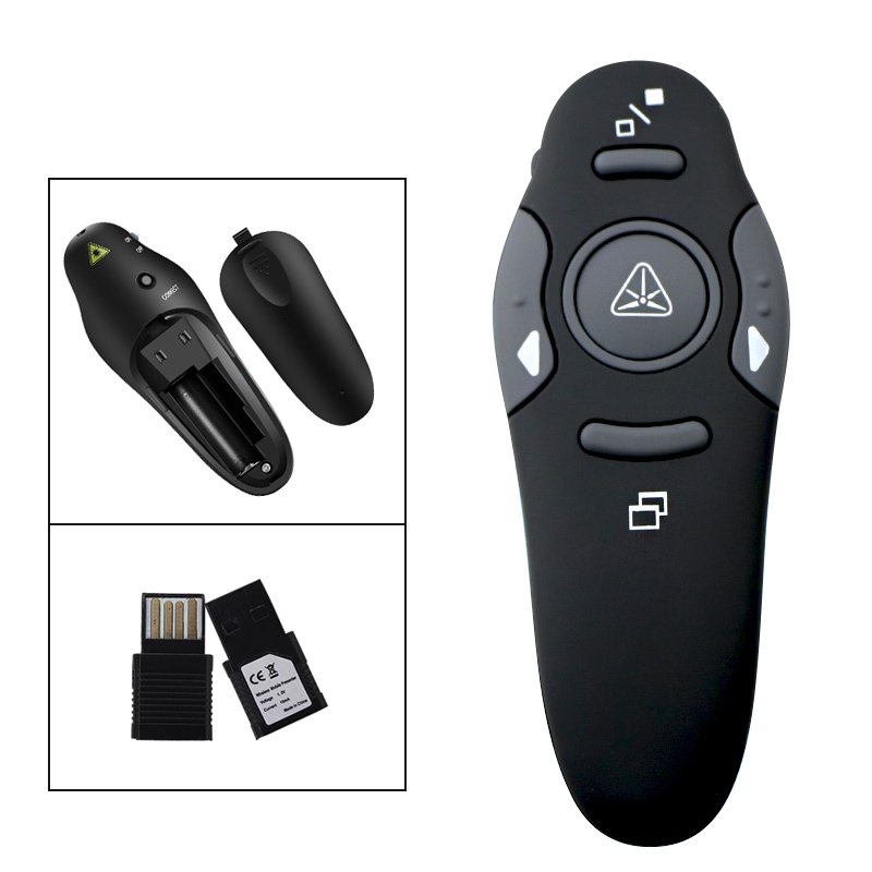 Wireless Presenter remote control-Ultra-Slim Wireless Receiver (3)