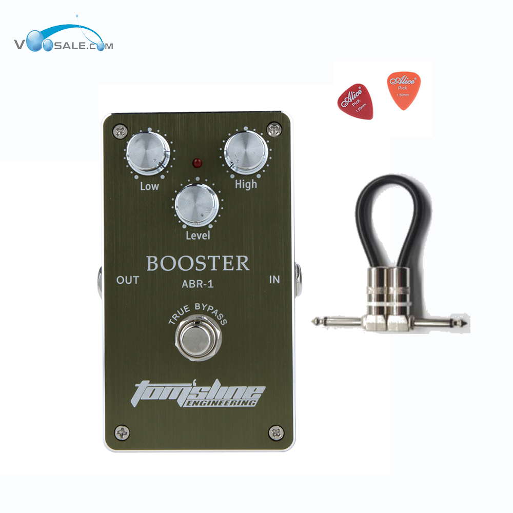 Aroma ABR-1 Booster Premium Analogue Effect Guitar Pedal DC9V Power Supply Aroma Pedal Effects CE ROHS + Free Cable aroma apn 3 plexion brit stack simulator guitar effect pedal dc9v power supply with true bypass guitarra parts one free cable