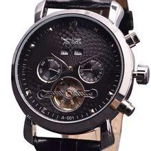 Confianza Caso Automática Plata Aleación Color Fresco Militar Relojes JARAGAR Nueva Casual Reloj de Los Hombres