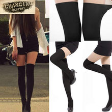 5ff08bcdb15 Best Selling Fashion Women Sexy Black Mixed Colors Tinted Sheer False High Stocking  Pantyhose Over The KneeTattoo Tights