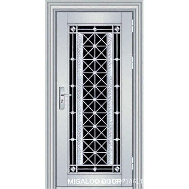 Foshan Factory Direct 304 Stainless Steel Door Security Door Entry