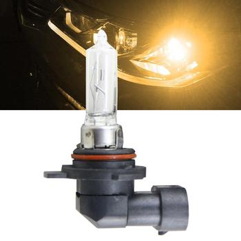 Plug amp Play wymienić 9012 HIR2 żarówki halogenowe 55W 4300K przód samochodu żarówka 9012 HIR2 PX22d żarówki reflektorów samochodowych tanie i dobre opinie NEWM 12 v 55 w External Lights Headlights Light Sourcing