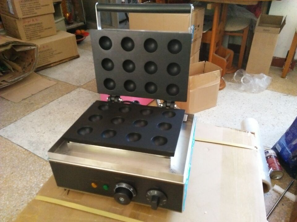 Double sided electric fish ball machine/ octopus ball maker/Takoyaki maker/ Quail egg oven