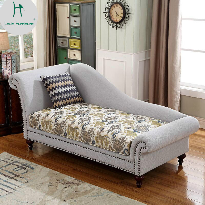 Louis Fashion New Classical Princess Bedroom Chairs Living ...