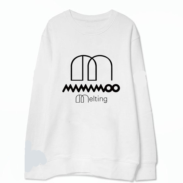 a6fad72f48f7 pullovers MAMAMOO Melting sweatshirt kpop long sleeve printing clothes  moletom cute crewneck tops korean graphic unisex hot sale