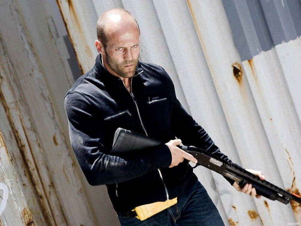 Chev Chelios Shotgun Jason Statham Kurbel Action Film Kunst Großen Druckplakat TXHOME...