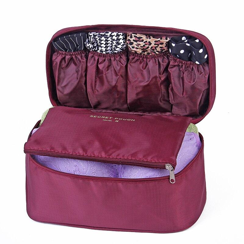 2018 Make Up Multifunctional Travel Portable Waterproof Zipper Bag Women Toilet Bag Bra Purse Make Up Bags Cosmetic Case Storag тушь make up factory make up factory ma120lwhdr04