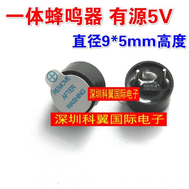 Free Shipping 10pcs/lot One small volume TMB09A05 buzzer 5V active 9 * 5mm speaker new original