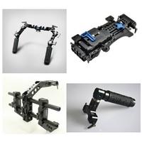 Tilta III Baseplate shoulder pad + Universal Handgrisp + C shape arm cage + Top handle for DSLR Pro Rig 5D3 D800 BMCC C300