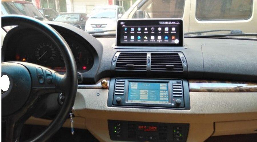 Отличный 6 ядерный Android 8,0 в Автомобильный навигатор для BMW E53 X5 1998 2006 Idrive 10,25 сенсорный экран автомобиля GPS Радио стерео плеер