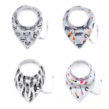 Baby Bibs Cotton Infant Feeding Towel Bibs Cartoon Newborn Girls and Boys Toddler Triangle Scarf Bandana Cute Burp Cloths new cute baby bibs cartoon printing cotton newborn infant girls and boys toddler triangle scarf bandana