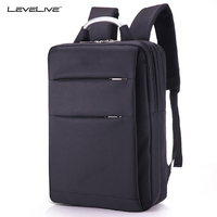 LeveLive New Casual Men Women Backpack For 15 6 Inches Laptop Backpacks Large Capacity Waterproof Office