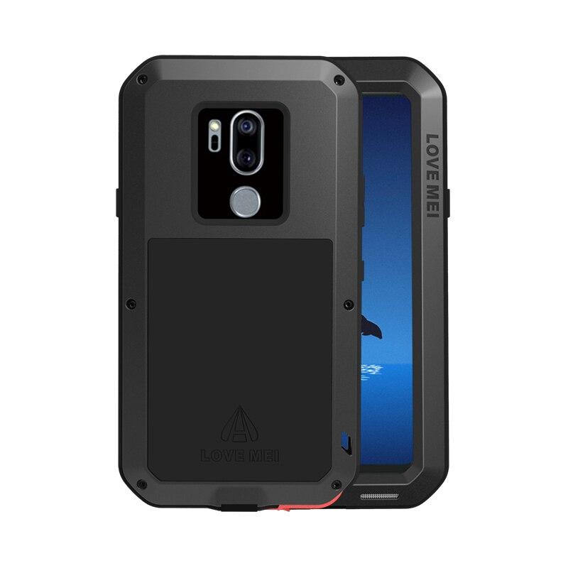 Boîtier de protection hybride blindé boîtier étanche Fundas boîtier étanche à l'eau/saleté/choc/pluie pour LG G7 G7 ThinQ G710