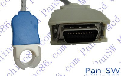 Nihon Kohden JL-302T spo2 adapter cable , TPU jacket, retail or wholesale, OEM, ODM