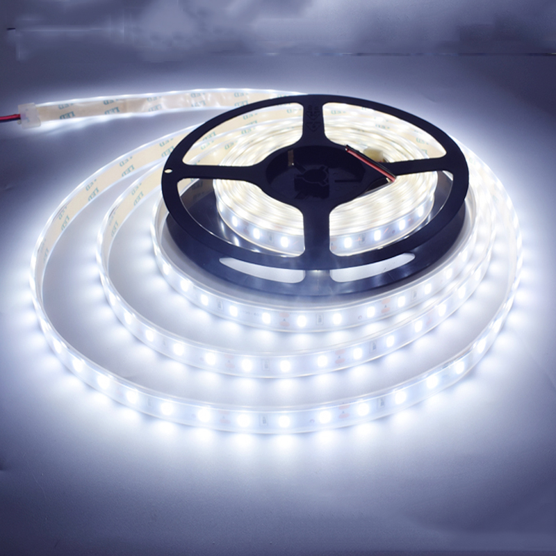 SPLEVISI  Silicon Tube Shape 5m 300LED 12V 5050 LED Strip 60LED/m IP67 Waterproof LED Tape Ribbon RGB Cool White Warm White BlueSPLEVISI  Silicon Tube Shape 5m 300LED 12V 5050 LED Strip 60LED/m IP67 Waterproof LED Tape Ribbon RGB Cool White Warm White Blue