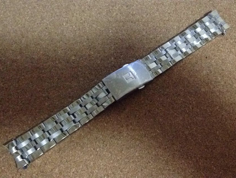 Image 2 - High Quality 19mm 20mm PRC200 T17 T461 T014430 T014410 Watchband Watch Parts male strip Solid Stainless steel bracelets straps-in Watchbands from Watches