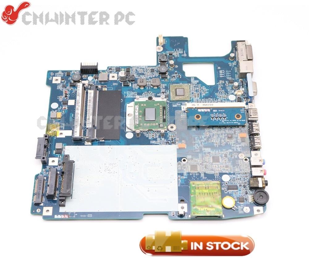 NOKOTION Laptop Motherboard For Acer aspire 5530 5530G MB.APV02.001 MBAPV02001 JALB0 L01 LA-4171P Free CPU motherboard for acer aspire 5741 5741g mb ptd02 001 mbptd02001 new71 l01 new71 la 5893p 100