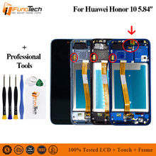 With Fingerprint Original New For Huawei Honor 10 LCD Display Touch Screen Digitizer Assembly 5.8 Honor10